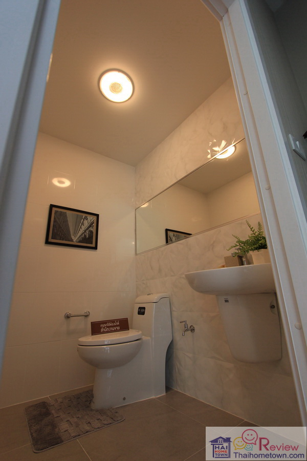พาทิโอ งามวงศ์วาน ห้องน้ำใต้บันได