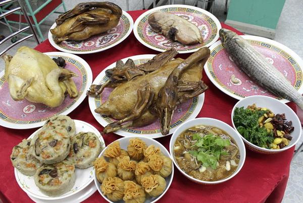 อาหารไหว้วันตรุษจีน