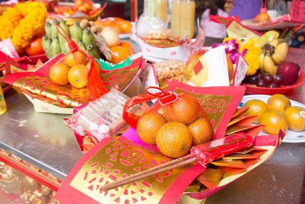 ผลไม้ที่ใช้ในวันตรุษจีน