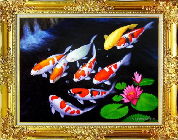 ภาพปลาทอง หรือปลาคาร์ฟ