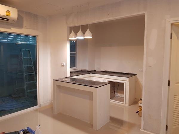 แต่งห้องครัวพื้นที่จำกัด