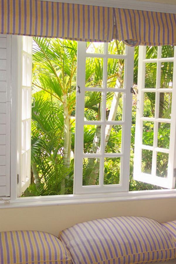 เปิดหน้าต่างประตูเพื่อให้อากาศถ่ายเท