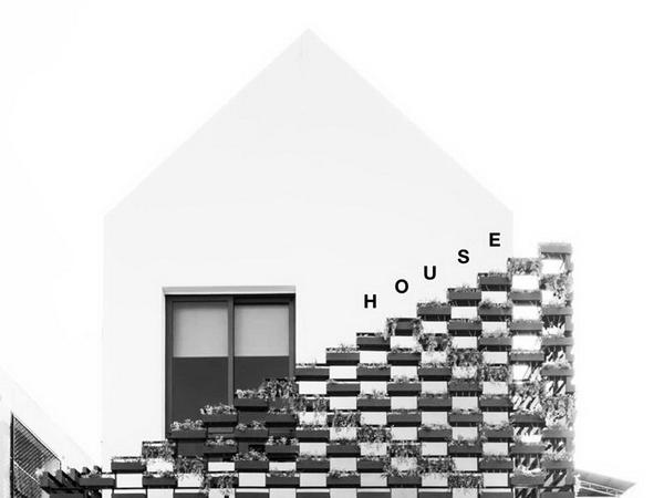 บ้านสองชั้นสไตล์โมเดิร์น