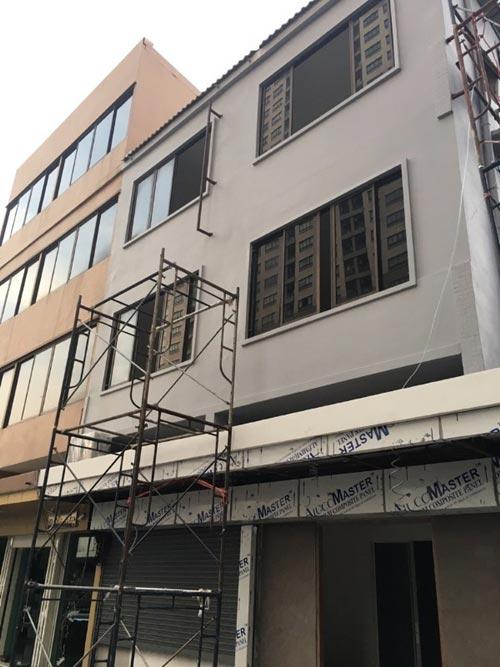 ปรับปรุงตึกแถวเก่าให้เป็นตึกใหม่ ไม่เหมือนใคร