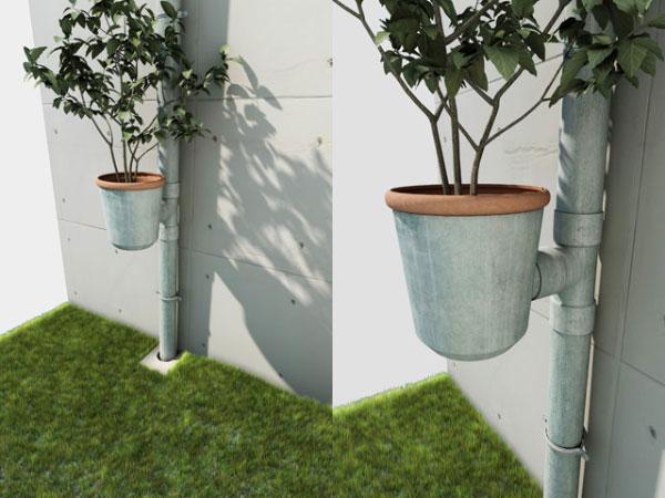 ไอเดียสร้างสรรค์ จากท่อระบายน้ำฝน