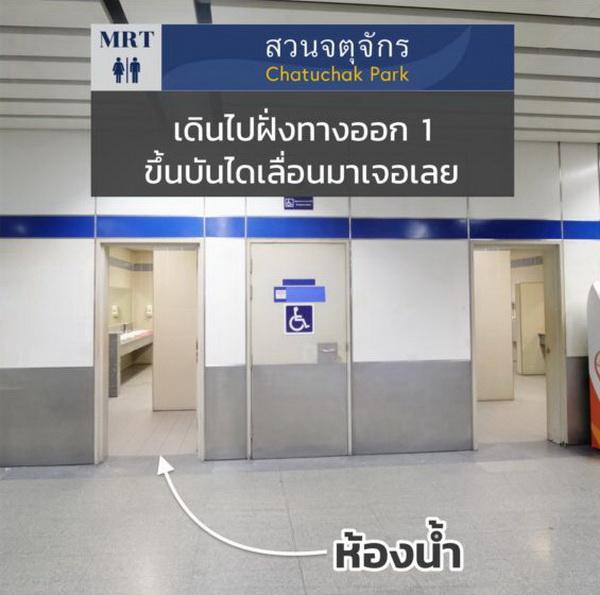 MRT สถานีสวนจตุจักร