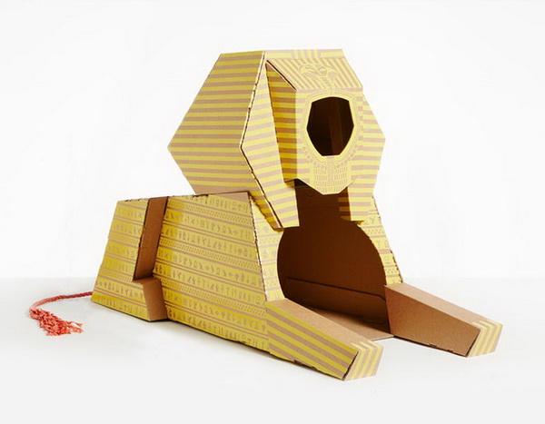 บ้านแมวลังกระดาษ มหาสฟิงซ์ (The Great Sphinx of Giza)
